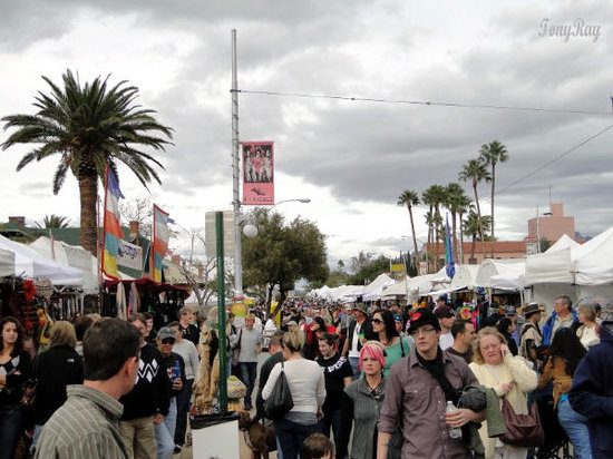 Pictures of Fourth Avenue, Tucson