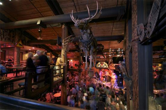 Mangy Moose Saloon in Totina, Alaska