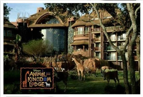 Another Entrance View Animal Kingdom Lodge