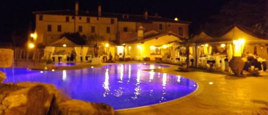 Piscina serale  Picture of Il Postiglione Campagnano di Roma  TripAdvisor