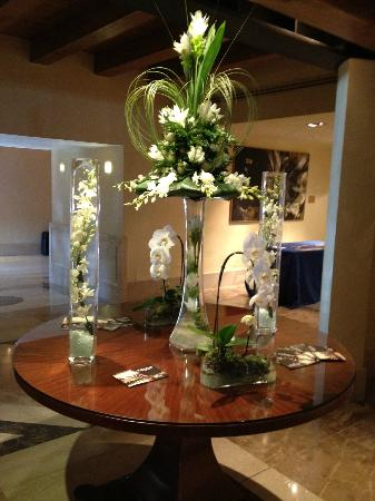 Flower Display In The Lobby Picture Of Hilton Molino