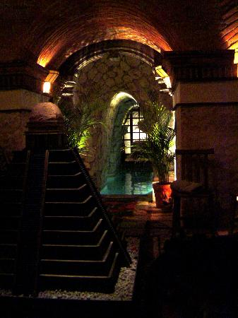 Underground Pyramid Room - Picture of The Mayan Baths, San Miguel de Allende - Tripadvisor