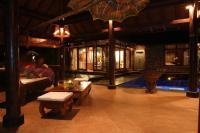 Villa Aloha Featuring underground Bedroom and living room ...