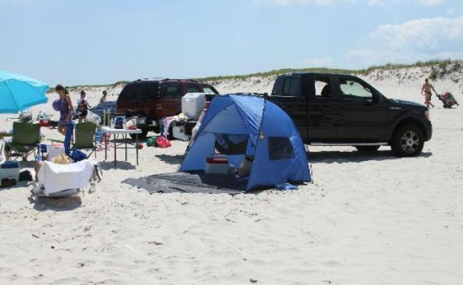 Driving On Picture Of Island Beach State Park New