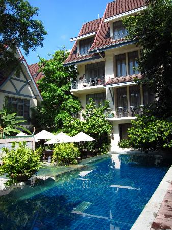 Hotel Room From Pool Picture Of Ariyasomvilla Bangkok