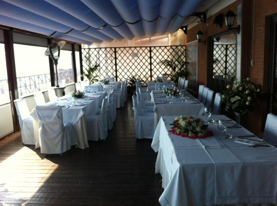 terrazza sul mare  Foto di Ristorante New Kursaal