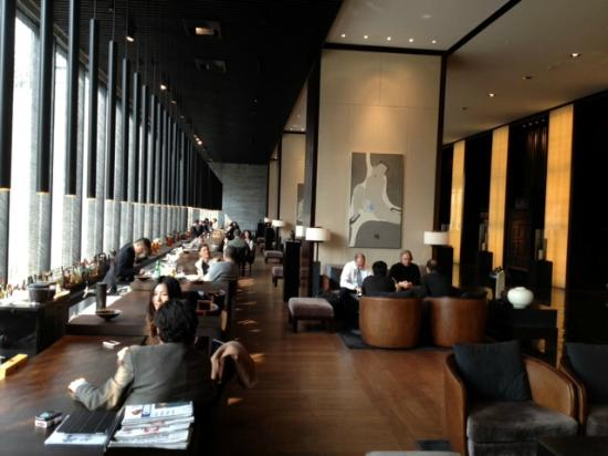 Puli Shanghai Lobby Bar  Picture of The PuLi Hotel and
