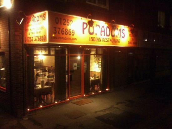 Fast Food Restaurants England