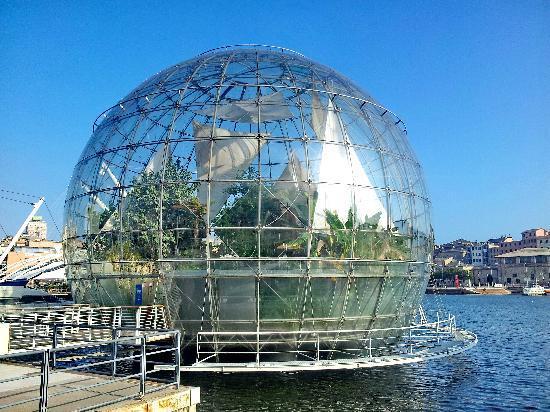 La Biosfera Genoa Italy Address Phone Number Garden