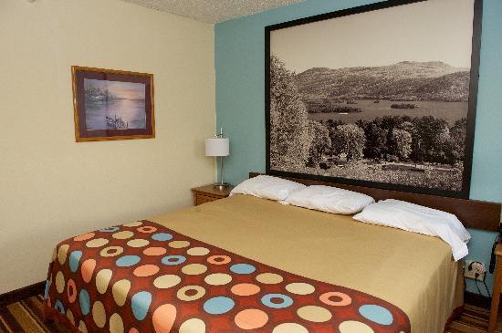 Super 8 Danville Va King Size Bed
