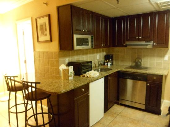 hotels with full kitchens in orlando florida kitchen island cabinet base kitchenette picture of the enclave hotel suites