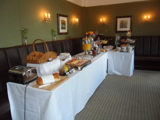 Breakfast Buffet Picture Of Hatton Court Hotel Upton St