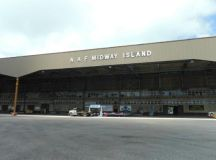 Battle of Midway Memorial - Picture of Midway Atoll ...