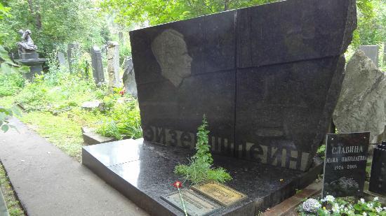 Tomba di Eisenstein – Fotografia de Mosteiro eCemitériode Novodevichy (Nova Dama), Moscou