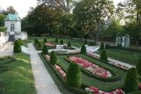 Sunken formal garden of The Elms - Picture of Newport ...
