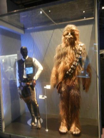 Han Solo and Chewbacca original costumes  Picture of
