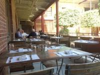 the patio courtyard - Picture of JCT Kitchen, Atlanta ...