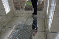 The broken glass floor