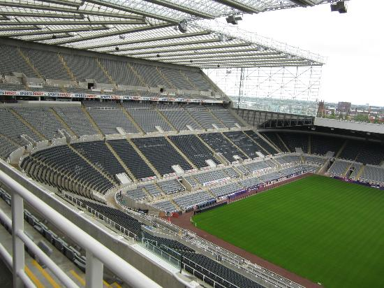All Under Cover Picture Of St James Park Newcastle