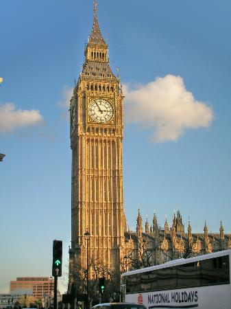 Big Ben on Time  Foto Menara Jam Big Ben London