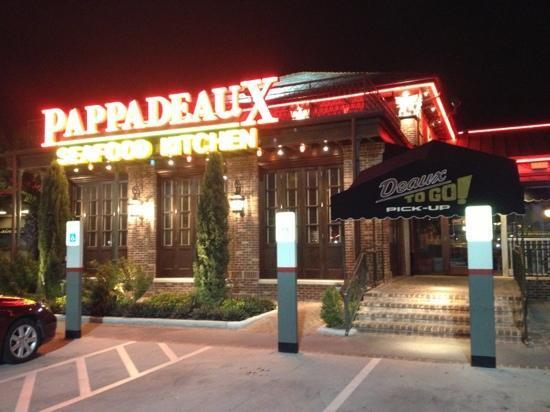 Pappadeaux Seafood Kitchen Pharr  Menu Prices