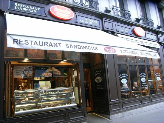 Brioche Doree Paris  150 rue de Rennes NotreDamedesChamps  Commander en ligne