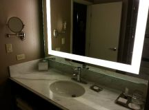 bathroom mirror - Picture of MGM Grand Hotel and Casino ...