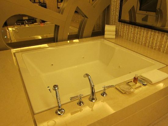 Whirlpool Tub at my suites bathroom  Picture of Galaxy Hotel Macau  TripAdvisor