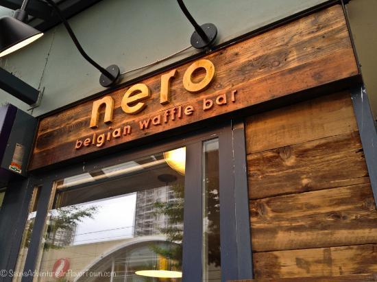 Nero Belgian Waffle Bar Vancouver  1703 Robson St