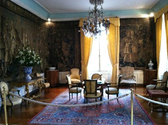 The secret tunnel to the castle  Picture of Le Chateau du Clos Luce  Parc Leonardo da Vinci