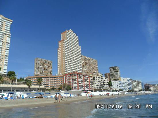 Old Town Levante Beach From Terrace