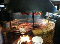 The open fire pit - Picture of Salt Lick BBQ, Driftwood ...
