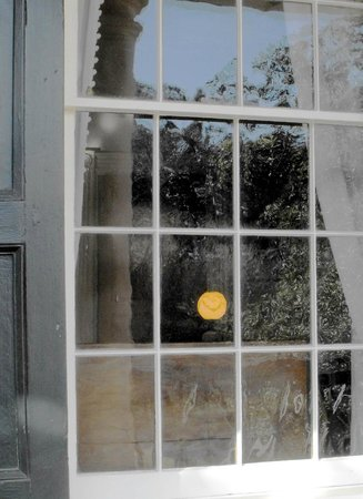 Ghost in the Window  Picture of Oak Alley Plantation