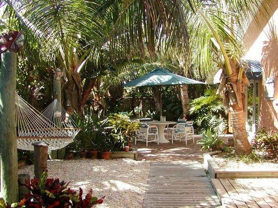 beach bungalow oceanfront tropical