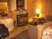 Fireplace, and jacuzzi tub - Picture of BEST WESTERN PLUS ...