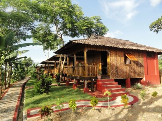 Bamboo Bungalows  Picture Of Hill Garden Hotel, Chaungtha