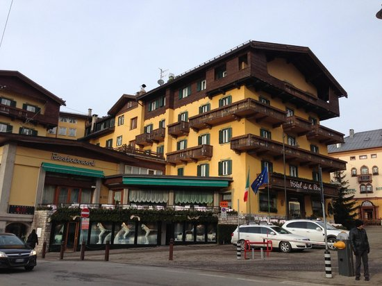 You'll be 1.1 km from tofana and 0.5 km… starts from The Hotel Picture Of Hotel De La Poste Cortina D Ampezzo Tripadvisor