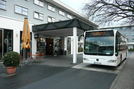 Shuttle Bus Stops At The Hotel Main Entrance Picture Of
