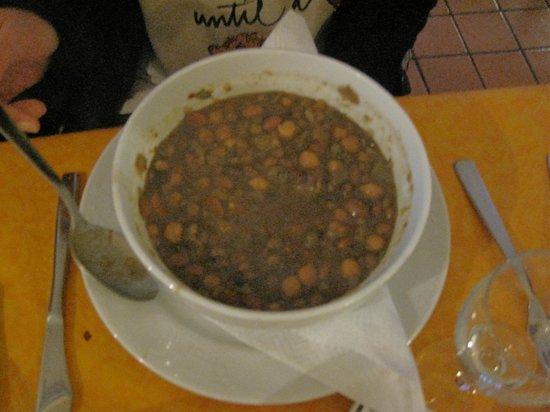 Costine e cipollata  Picture of La Terrazza Del Barone