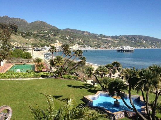 Adamson House and Malibu Lagoon Museum: view of Malibu from the balcony