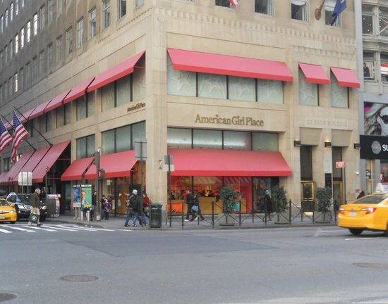 American Girl Store 5th Ave 48th Picture of American