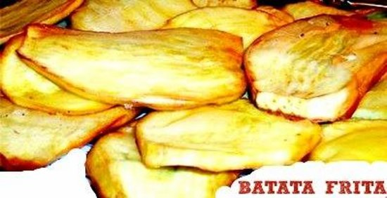 BATATA FRITA FRIED SWEET POTATO  Picture of Mangu Cocina