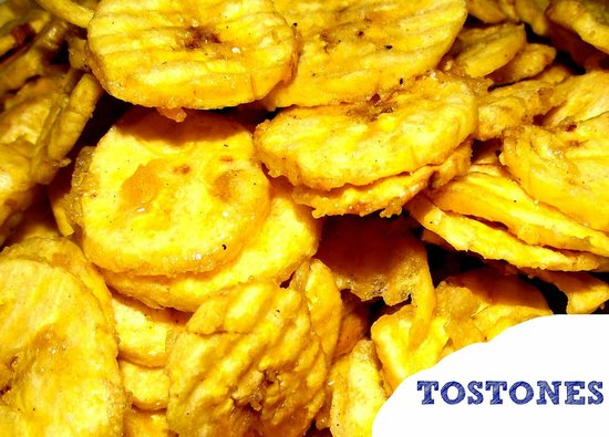 TOSTONES FRIED PLANTAIN SLICES  Picture of Mangu Cocina