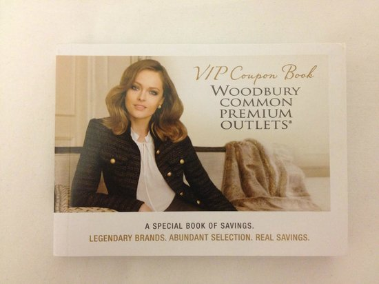 Coupon Book For Woodbury Commons Outlets Bath And Body