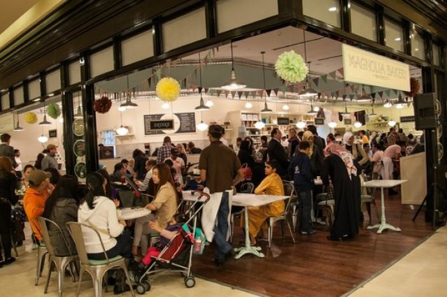 Image result for Magnolia Bakery doha