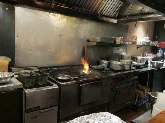 grill kitchen designer wall tiles area with wood fire flaming picture of backyard pizza