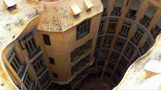 Casa Mila attic  Picture of La Pedrera Barcelona  TripAdvisor
