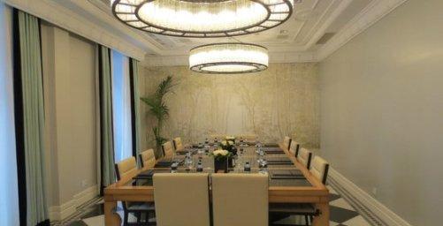 Salón Consejo en el Hotel Único