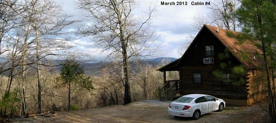 entry side of cabin 3  Picture of Ozark Mountain Cabins
