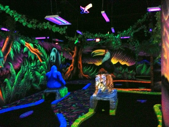 Shankz Black Light Mini Golf Olympia  All You Need to